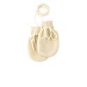 Moufles en laine tricotée - Natural - Disana