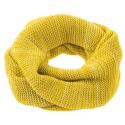 Snood en laine tricotée - Rose & Naturel - Disana