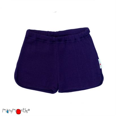 Thermal Shorts - Majestic Plum - Manymonths