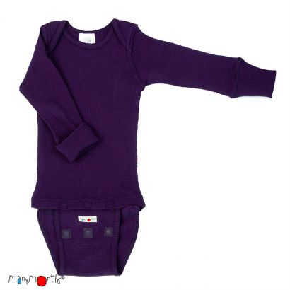 Body manches longues - Majestic Plum - Manymonths