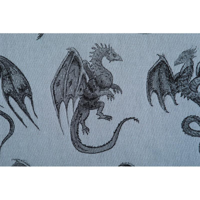 Porte poupon - Dragon Steel Blue - Lennylamb