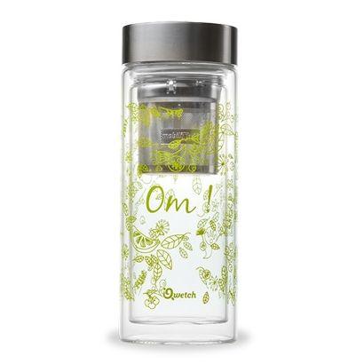 Théière en verre Om Vert - Qwetch - 320ml - 1