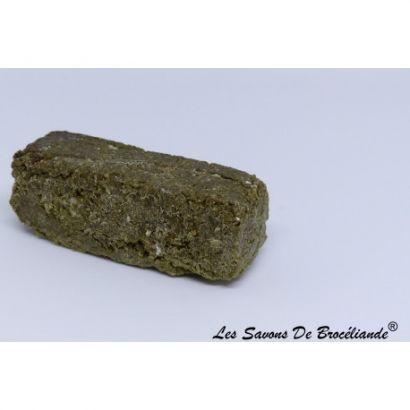 Shampoing solide non saponifié pour cheveux Gras/Pelliculaires - Les Savons de Brocéliande