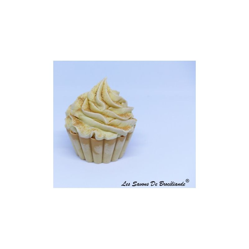 Savon Cupcake - Potiron et épices - Les Savons de Brocéliande