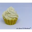 Savon Cupcake - Tarte au citron - Les Savons de Brocéliande