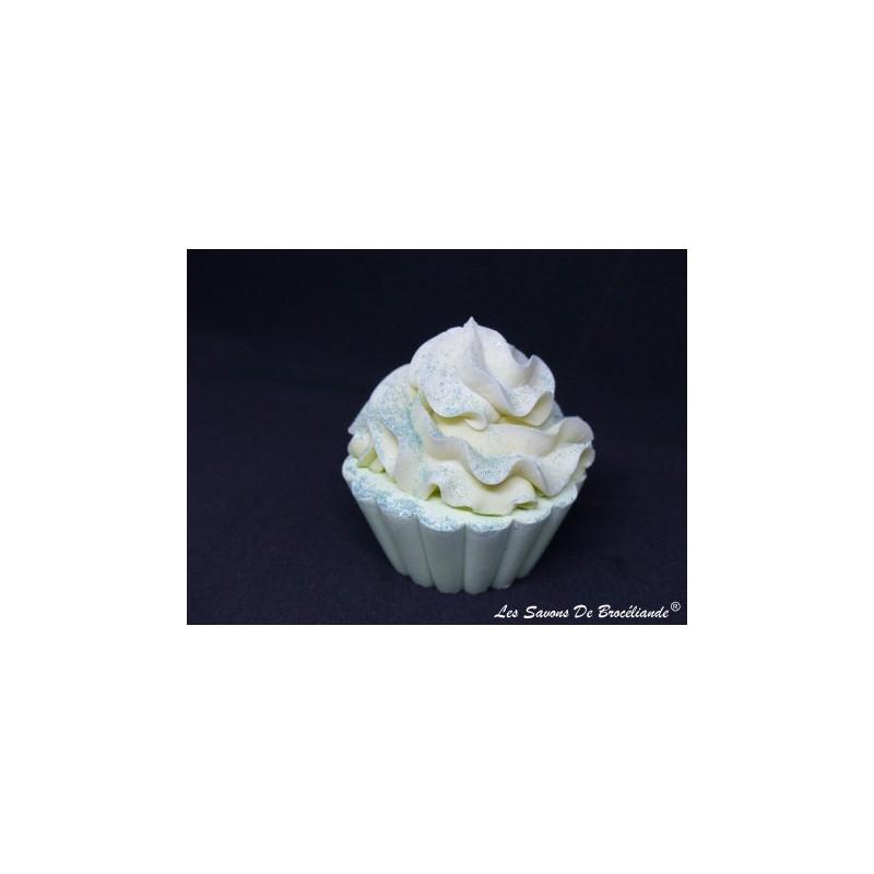 Savon Cupcake - Muguet - Les Savons de Brocéliande