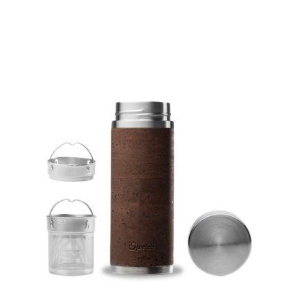 Fourreau en liège pour théière - Qwetch - Coloris brun - 2