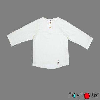 Chemise à manches longues ajustable et évolutive - Natural - Manymonths - 4