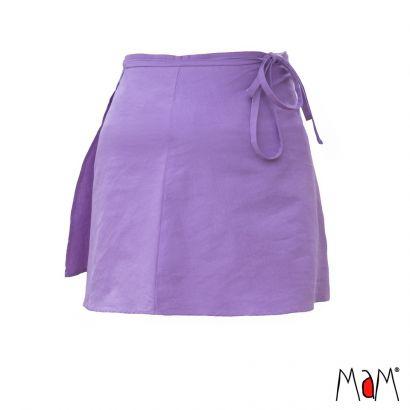 Jupe portefeuille adulte - Sheer Violet - MaM - 1