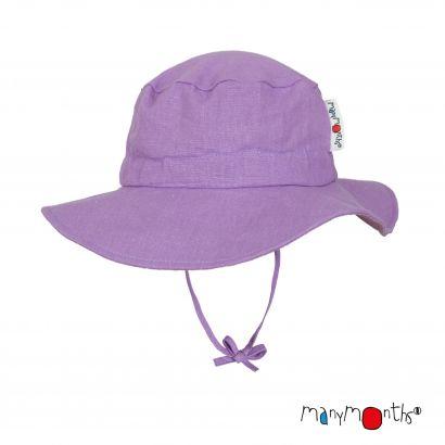 Chapeau du voyageur Chanvre/Coton - Sheer Violet - Manymonths - 1