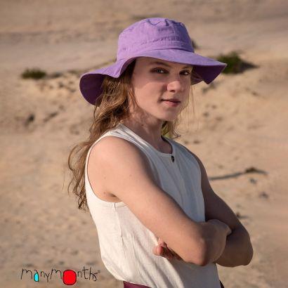 Chapeau du voyageur Chanvre/Coton - Sheer Violet - Manymonths - 2