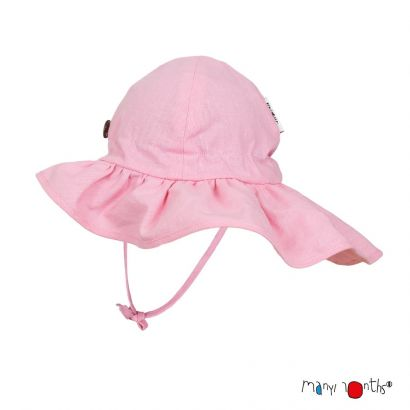 Chapeau d'été glamour - Strawberry milk - Manymonths - 2