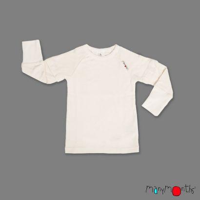 T-shirt avec manches amovibles - Manymonths - 1