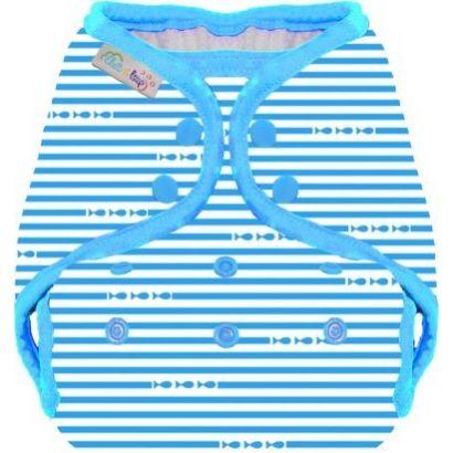 Maillot de bain couche - Marin bleu - Eliott et Loup - 1
