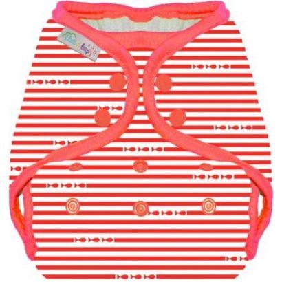 Maillot de bain couche - Marin rouge - Eliott et Loup - 1