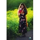 Echarpe Little Frog - Lovely Red Rainbow - Coton/Tencel - 3