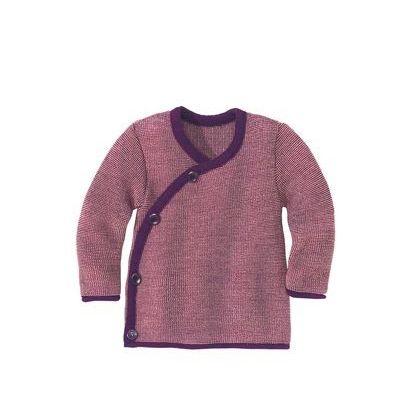 Cardigan en laine mélangée tricotée - Disana - 4