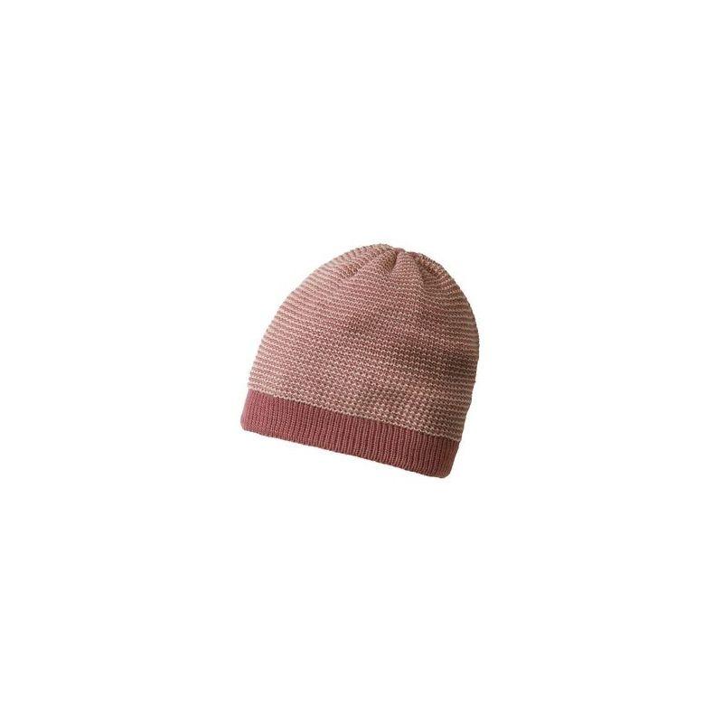 Bonnet court en laine tricotée - Disana - 3