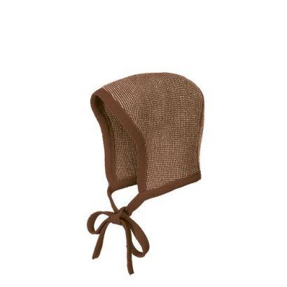 Béguin en laine tricotée - Disana - 3