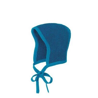 Béguin en laine tricotée - Disana - 4