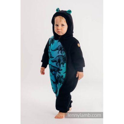 Combinaison bébé sweat - Black & Jurassic Park - Lennylamb - 5