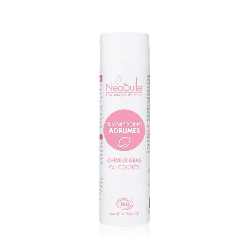 Shampooing Agrumes, cheveux gras ou colorés - Néobulle - 1