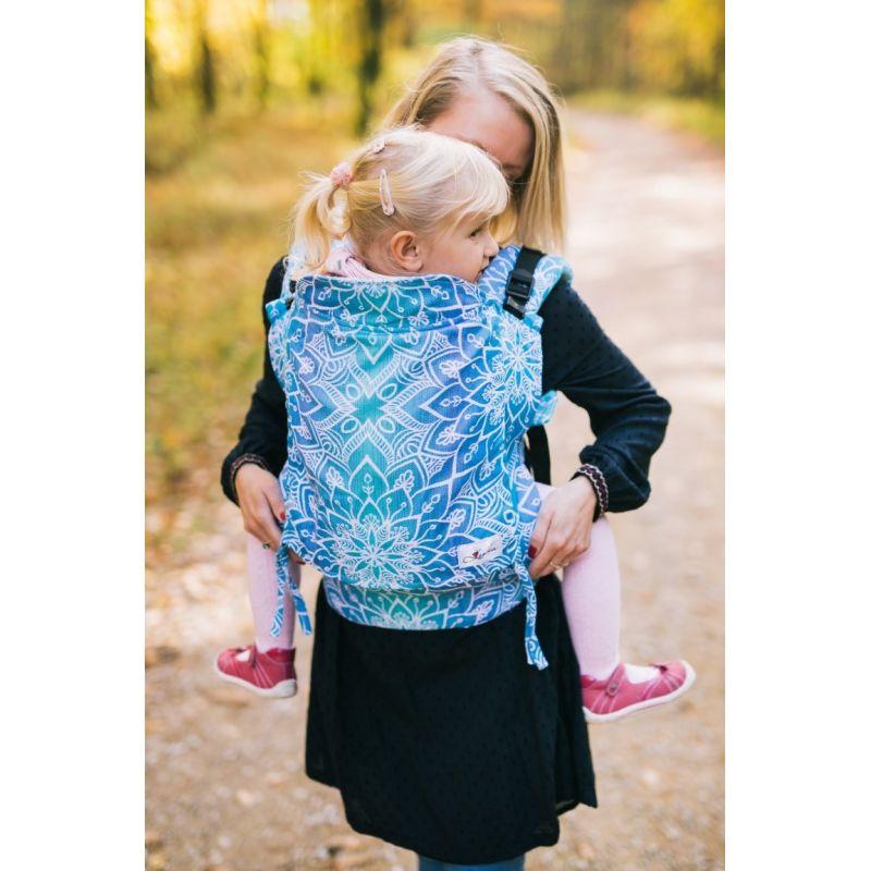 Porte-bébé Lenka toddler - Mandala Blue - Be Lenka - 1