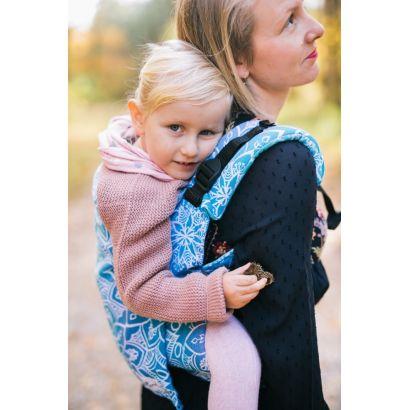 Porte-bébé Lenka toddler - Mandala Blue - Be Lenka - 5