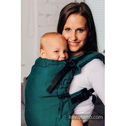 Porte bébé LennyUpGrade - Basic Line Emeraude - Lennylamb - 4