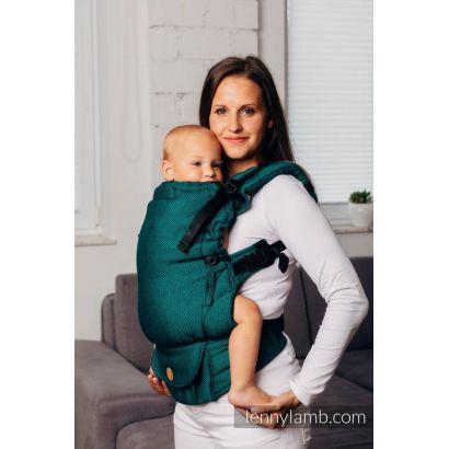 Porte bébé LennyUpGrade - Basic Line Emeraude - Lennylamb - 5