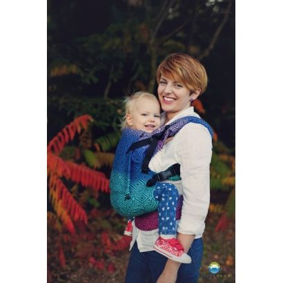 Porte-bébé Toddler - Dark Aurora Cube - Little Frog - 1
