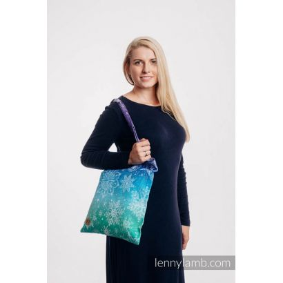 Sac Shopping Lennylamb - Snow Queen Crystal - 33cmx39cm - 1