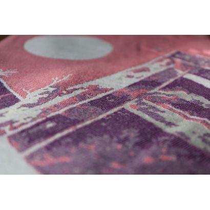 Echarpe Yaro - Everest Trio Silver Purple Rose - 100% Coton - 3