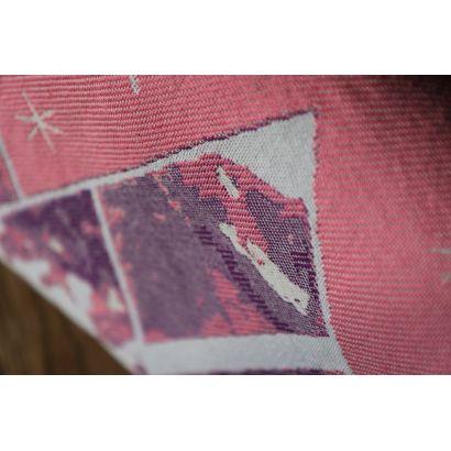 Echarpe Yaro - Everest Trio Silver Purple Rose - 100% Coton - 13
