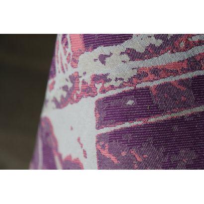 Echarpe Yaro - Everest Trio Silver Purple Rose - 100% Coton - 14