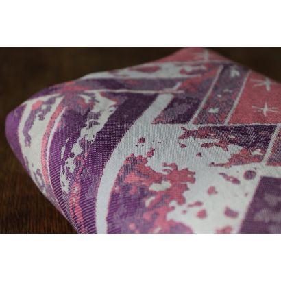 Echarpe Yaro - Everest Trio Silver Purple Rose - 100% Coton - 18