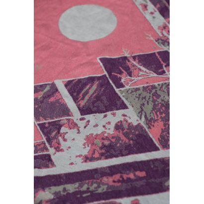 Echarpe Yaro - Everest Trio Silver Purple Rose - 100% Coton - 19