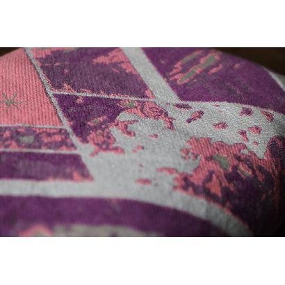 Echarpe Yaro - Everest Trio Silver Purple Rose - 100% Coton - 21