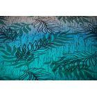 Echarpe Yaro - Oasis Duo Aqua Grad Emerald Navy Wool - 70% Coton/30% Laine - 7