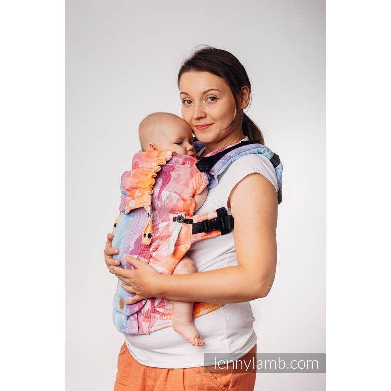 Porte bébé LennyUpGrade - Swallows Rainbow Light - Lennylamb - 1