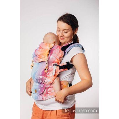 Porte bébé LennyUpGrade - Swallows Rainbow Light - Lennylamb - 8
