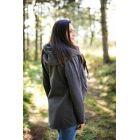 Hoodie de portage - Gris foncé - Be Lenka - 3