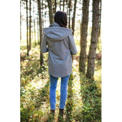 Hoodie de portage - Gris clair - Be Lenka - 4