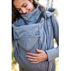 Hoodie de portage - Gris clair - Be Lenka - 5