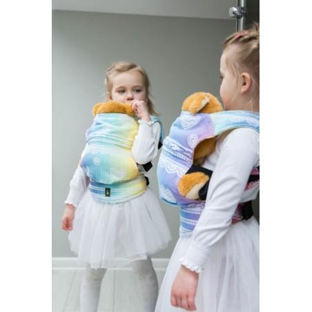 Porte poupon - Rainbow Lace - Lennylamb