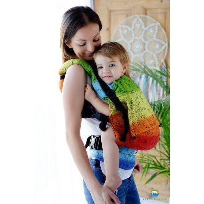 Porte-bébé Toddler - Black Arcoiris  - Little Frog - 1