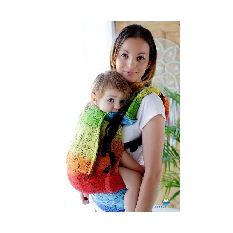 Porte-bébé Toddler - Black Arcoiris  - Little Frog - 3