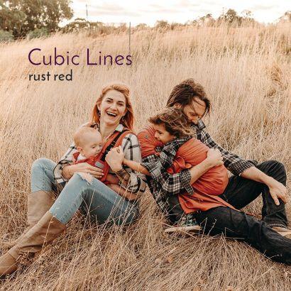 Flytai Toddler - Cubic Lines rouge rouille - Fidella Fidella - 6