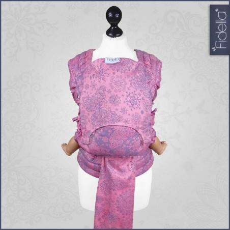 Mei Tai FlyTai - Iced Butterfly violet - Fidella (new size)