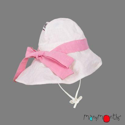 Chapeau ajustable avec un noeud - Coton/Chanvre - Manymonths Babyidea Oy - 1